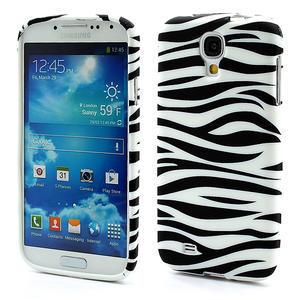 Gelové pouzdro pro Samsung Galaxy S4 i9500- zebra - 1