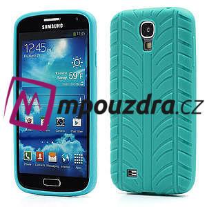 Gelové PNEU pouzdro pro Samsung Galaxy S4 i9500- zelené - 1