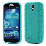 Gelové PNEU pouzdro pro Samsung Galaxy S4 i9500- zelené - 1/7