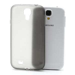 Gelové slim pouzdro na Samsung Galaxy S4 i9500- šedé - 1
