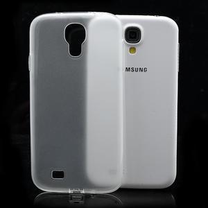 Gelové slim pouzdro na Samsung Galaxy S4 i9500- bílé - 1