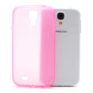 Gelové slim pouzdro na Samsung Galaxy S4 i9500- růžové - 1