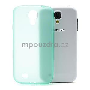 Gelové slim pouzdro na Samsung Galaxy S4 i9500- zelené - 1