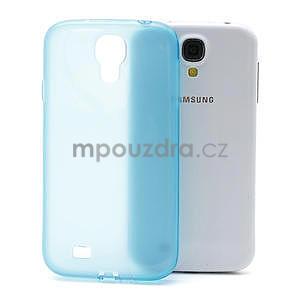 Gelové slim pouzdro na Samsung Galaxy S4 i9500- modré - 1