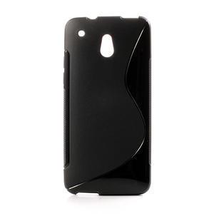 Gelové S-line pouzdro pro HTC one Mini M4- černé - 1