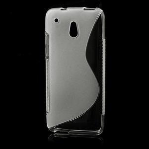 Gelové S-line pouzdro pro HTC one Mini M4- transparentní - 1
