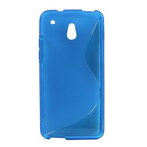 Gelové S-line pouzdro pro HTC one Mini M4- modré - 1