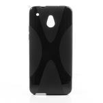 Gelové X-line pouzdro pro HTC one Mini M4- černé - 1/5