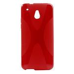 Gelové X-line pouzdro pro HTC one Mini M4- červené - 1/3