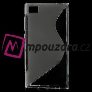 Gelové S-line pouzdro na Xiaomi Mi3- transparentní - 1