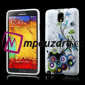 Gelové pouzdro na Samsung Galaxy Note 3- květiny - 1