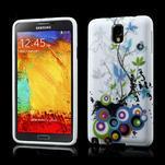 Gelové pouzdro na Samsung Galaxy Note 3- květiny - 1/6