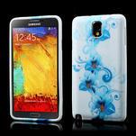 Gelové pouzdro na Samsung Galaxy Note 3- modrá lilie - 1/6