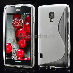 Gelové S-line pouzdro pro LG Optimus L7 II P710-transparentní