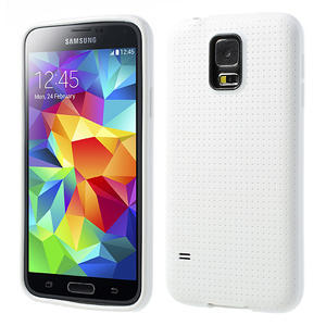 Gelové pouzdro na Samsung Galaxy S5- bílé - 1