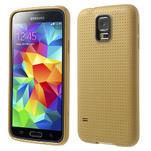 Gelové pouzdro na Samsung Galaxy S5- zlaté - 1/5