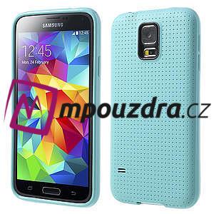 Gelové pouzdro na Samsung Galaxy S5- světlemodré - 1