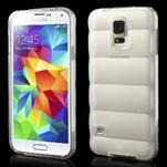 Gelové vesta pouzdro na Samsung Galaxy S5- bílé - 1/6