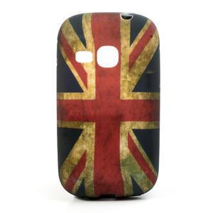 Gelové pouzdro na Samsung Galaxy Young S6310- UK vlajka - 1