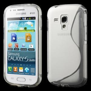 Gelové S-line pouzdro pro Samsung Trend plus, S duos- transparentní - 1