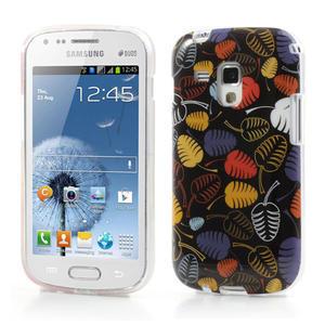 Gelové pouzdro na Samsung Galaxy Trend, Duos- lístky - 1