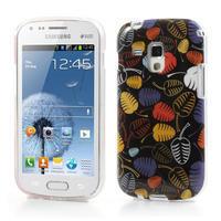 Gelové pouzdro na Samsung Galaxy Trend, Duos- lístky - 1/6