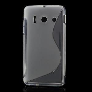 Gelové S-line pouzdro na Huawei Ascend Y300- transparentní