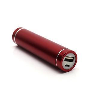 Mini GT stylová externí nabíječka 2 600 mAh - červená - 1