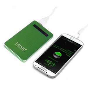 Slim GX externí nabíječka PoweBank 5 000 mAh - zelená - 1