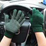 GX protiskluzové rukavice - zelené - 1/4