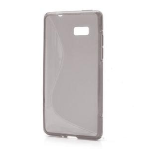 Gelové S-line pouzdro pro HTC Desire 600- šedé - 1