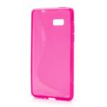 Gelové S-line pouzdro pro HTC Desire 600- růžové - 1/6