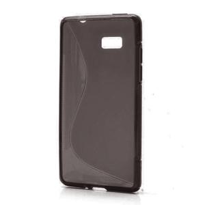 Gelové S-line pouzdro pro HTC Desire 600- černé - 1