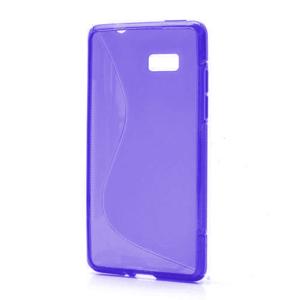 Gelové S-line pouzdro pro HTC Desire 600- fialové - 1