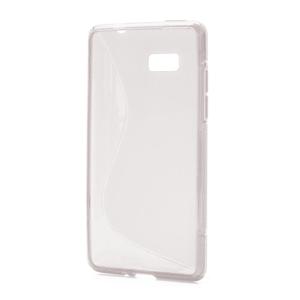 Gelové S-line pouzdro pro HTC Desire 600- transparentní - 1