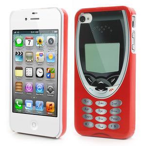 Telefon plastové pouzdro na iPhone 4 4S - 1