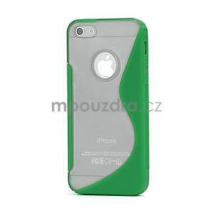 S-line hybrid pouzdro pro iPhone 5, 5s- zelené - 1