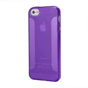 Gelové pouzdro pro iPhone 5, 5s- fialové - 1