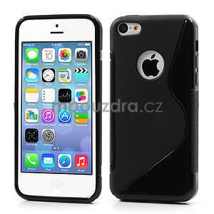 Gelové S-line pouzdro pro iPhone 5C- černé - 1