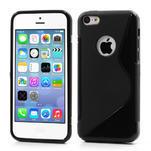 Gelové S-line pouzdro pro iPhone 5C- černé - 1/6