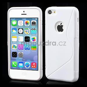 Gelové S-line pouzdro pro iPhone 5C- bílé - 1