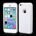 Gelové S-line pouzdro pro iPhone 5C- bílé - 1/6