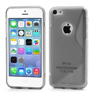 Gelové S-line pouzdro pro iPhone 5C- šedé - 1