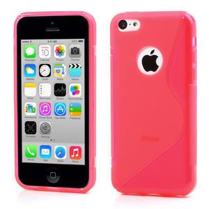Gelové S-line pouzdro pro iPhone 5C- růžové - 1