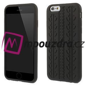 Silikonové pneu na iPhone 6, 4.7 - černé - 1
