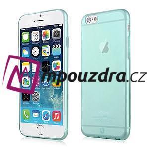 Ultra slim 0.7 mm gelové pouzdro na iPhone 6, 4.7  - modré - 1