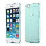 Ultra slim 0.7 mm gelové pouzdro na iPhone 6, 4.7  - modré - 1/7