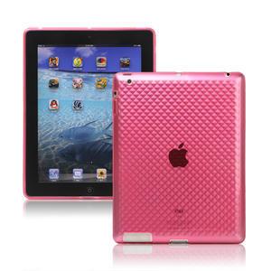Gelové pouzdro pro iPad 2, 3, 4- růžový