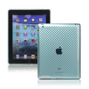 Gelové pouzdro pro iPad 2, 3, 4- modrý