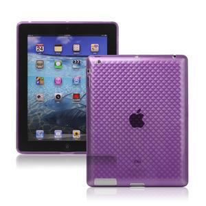 Gelové pouzdro pro iPad 2, 3, 4- fialový